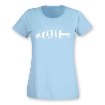 T-Shirt Evolution Chiropraktiker Chiro Physiotherapeutin15 Farben Damen XS - 2XL – Bild 13