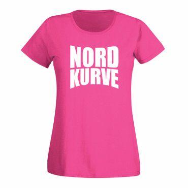T-Shirt Nordkurve oval Stadion Fan Sport Liga Verein 13 15 Farben Damen XS - 3XL – Bild 5