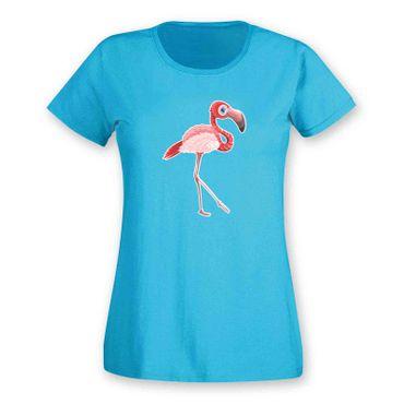 T-Shirt Flamingo Vogel CSD Keys Florida Geschenk Party 15 Farben Damen XS - 2XL – Bild 12