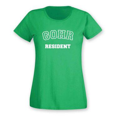 T-Shirt Gohr Resident Geschenk Dormagen Präsent 11 Farben Damen XS-3XL – Bild 1