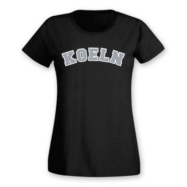 Köln T-Shirt Damen College Style Rhein Dom Kölle Colonia Kölle 8 Farben XS - 3XL – Bild 3