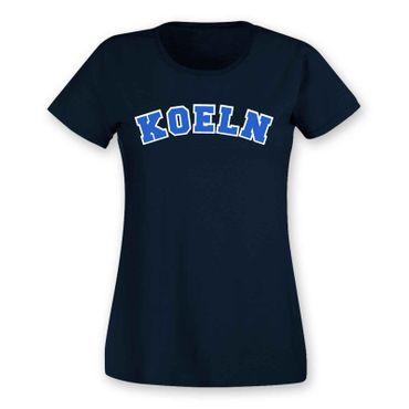 Köln T-Shirt Damen College Style Rhein Dom Kölle Colonia Kölle 8 Farben XS - 3XL – Bild 16