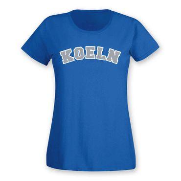 Köln T-Shirt Damen College Style Rhein Dom Kölle Colonia Kölle 8 Farben XS - 3XL – Bild 19