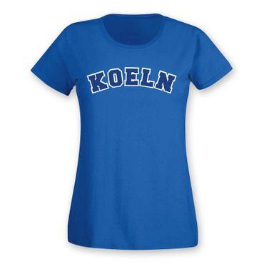 Köln T-Shirt Damen College Style Rhein Dom Kölle Colonia Kölle 8 Farben XS - 3XL – Bild 20