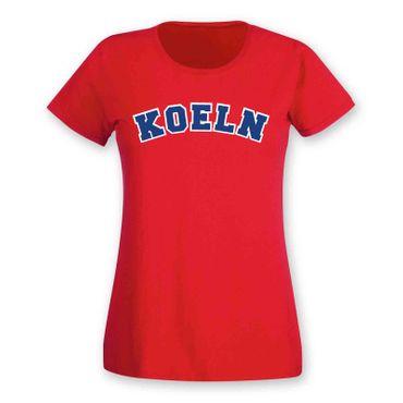 Köln T-Shirt Damen College Style Rhein Dom Kölle Colonia Kölle 8 Farben XS - 3XL – Bild 25