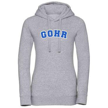 Hoodie Gohr College Style Geschenk Präsent Dormagen 8 Farben Damen XS-XL – Bild 9