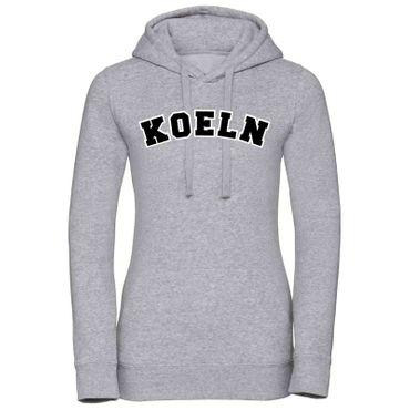 Köln Hoodie Damen College Style Geschenk Präsent 8 Farben XS - XL – Bild 7