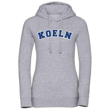 Köln Hoodie Damen College Style Geschenk Präsent 8 Farben XS - XL – Bild 8