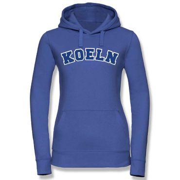 Köln Hoodie Damen College Style Geschenk Präsent 8 Farben XS - XL – Bild 24