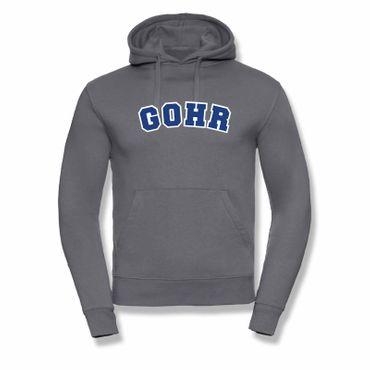 Hoodie Gohr College Style Geschenk Präsent Dormagen 8 Farben Herren XS-3XL – Bild 16