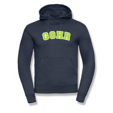 Hoodie Gohr College Style Geschenk Präsent Dormagen 8 Farben Herren XS-3XL – Bild 21