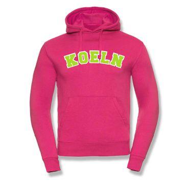 Köln Hoodie Herren College Style Geschenk Präsent 8 Farben XS-3XL – Bild 14