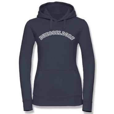Düsseldorf Hoodie Damen College Style Geschenk Präsent 8 Farben XS - XL – Bild 19