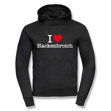 Hackenbroich Hoodie Herren I love (Herz) Präsent Dormagen Geschenk 9 Farben XS-3XL – Bild 8