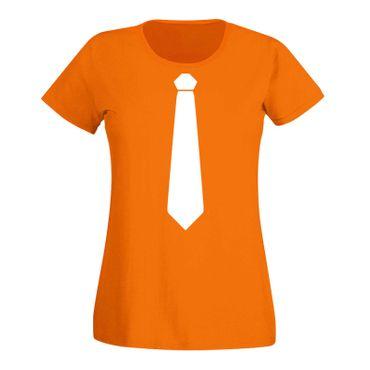 JGA Shirt Krawatte Anzug Kostüm Hochzeit Feier Fun Party 15 Farben Damen XS-3XL – Bild 16