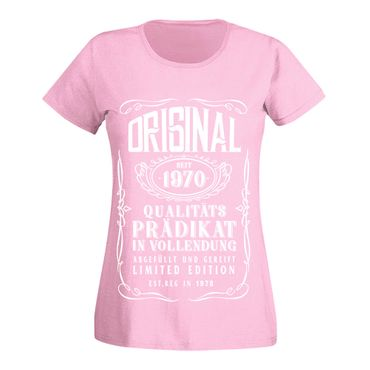 T-Shirt 50. Geburtstag Prädikat Vollendung Original 1970 50ster Damen XS - 3XL – Bild 6