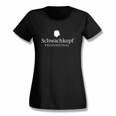 T-Shirt Schwachkopf Professional Trump Präsident USA 15 Farben Damen XS-3XL – Bild 1