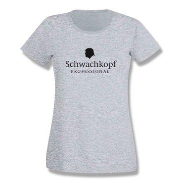 T-Shirt Schwachkopf Professional Trump Präsident USA 15 Farben Damen XS-3XL – Bild 7