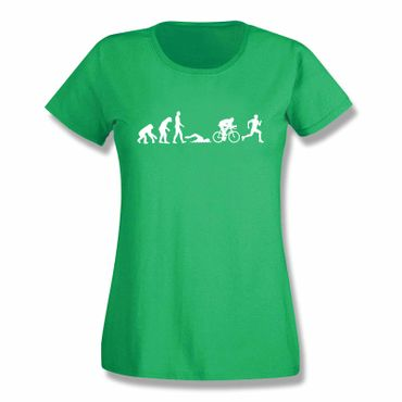 T-Shirt Evolution Triathlon Ironman Hawaii Roth Laufen 15 Farben Damen XS-3XL – Bild 9