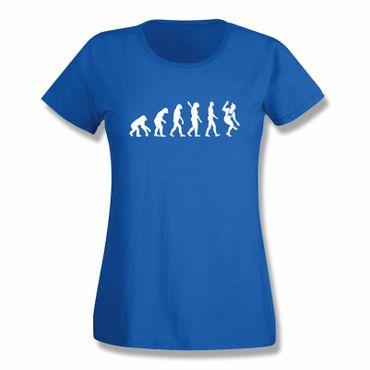 T-Shirt Evolution Bayerin Bayern Schuhplattler München  15 Farben Damen XS-3XL – Bild 11