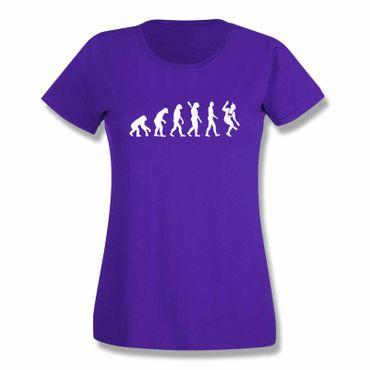 T-Shirt Evolution Bayerin Bayern Schuhplattler München  15 Farben Damen XS-3XL – Bild 14
