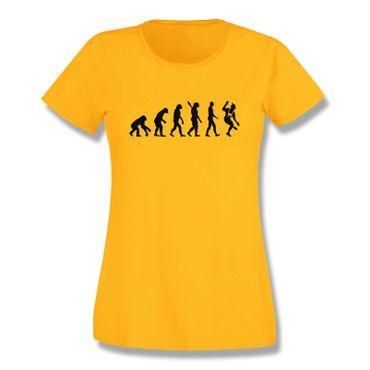 T-Shirt Evolution Bayerin Bayern Schuhplattler München  15 Farben Damen XS-3XL – Bild 17