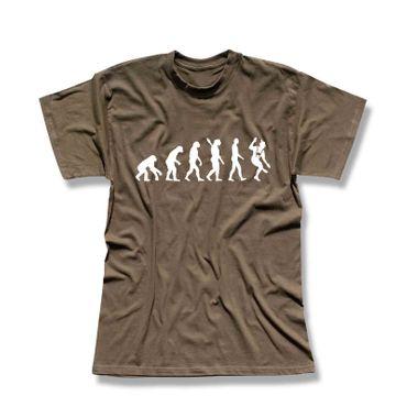 T-Shirt Evolution Bayer Bayern Schuhplattler München Alpen 13 Farben Men XS-5XL – Bild 9