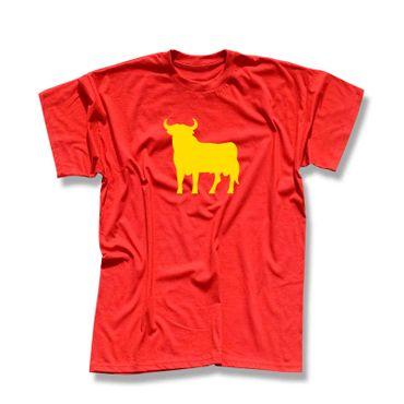 T-Shirt Stier Spanien 3 Farben Herren XS-5XL – Bild 1