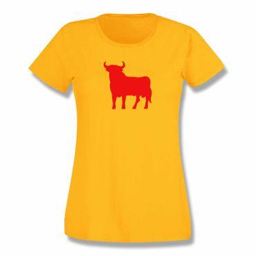 T-Shirt Spanien Stier 3 Farben Damen XS-3XL – Bild 4