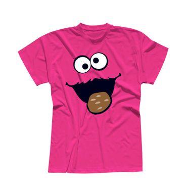 T-Shirt Krümelmonster mit Keks 13 Farben Herren XS-5XL – Bild 5