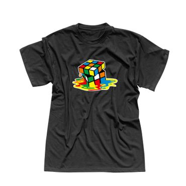 T-Shirt Sheldon Würfel Big Bang Theory 80er Cube Nerd 13 Farben Herren XS-5XL – Bild 1