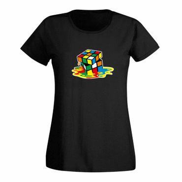 T-Shirt Sheldon Würfel Big Bang Theory 80er Cube Nerd 15 Farben Damen XS-3XL – Bild 3