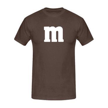 T-Shirt M&M Schoko-Linse Gruppenkostüm Karneval Fasching 15 Farben Kinder / Herren Gr. 98-5XL – Bild 9