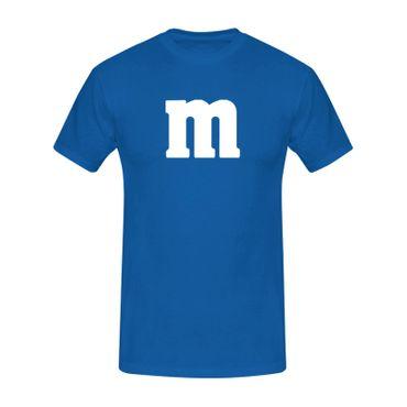 T-Shirt M&M Schoko-Linse Gruppenkostüm Karneval Fasching 15 Farben Kinder / Herren Gr. 98-5XL – Bild 13