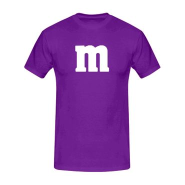 T-Shirt M&M Schoko-Linse Gruppenkostüm Karneval Fasching 15 Farben Kinder / Herren Gr. 98-5XL – Bild 15