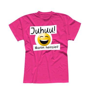 T-Shirt Junggesellen Abschied Smiley 13 Farben Herren XS-5XL – Bild 7