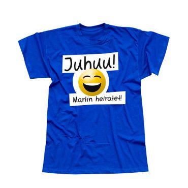 T-Shirt Junggesellen Abschied Smiley 13 Farben Herren XS-5XL – Bild 21