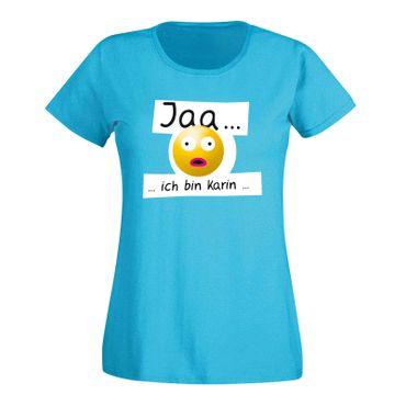 T-Shirt Junggesellinnen Abschied Smiley 15 Farben Damen XS-3XL – Bild 22