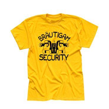 T-Shirt Junggesellenabschied Bräutigam security VIP 6 Farben Herren XS-5XL – Bild 12