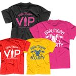 T-Shirt Junggesellenabschied Bräutigam security VIP 6 Farben Herren XS-5XL 001