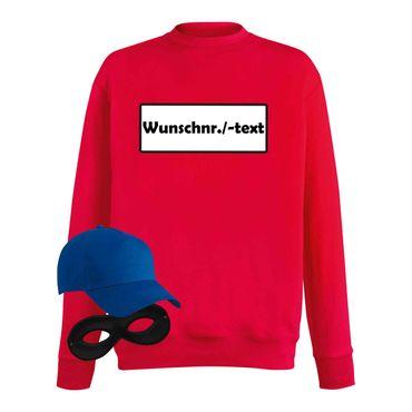 Sweatshirt Panzerknacker Herren Wunschnummer Kostüm-Set Karneval JGA XS - 5XL – Bild 9