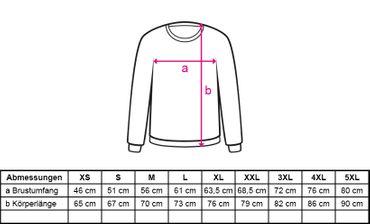 Sweatshirt Panzerknacker Herren Deluxe+ Kostüm-Set Wunschnummer Karneval JGA XS - 5XL – Bild 2