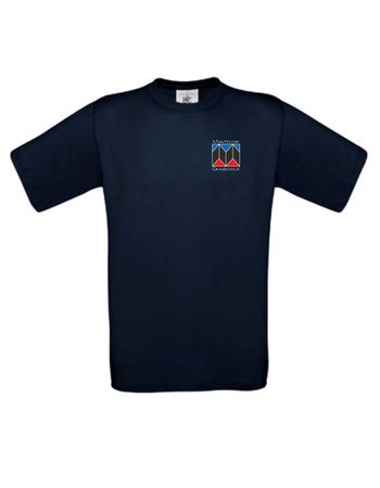 "T-Shirt ""Montessori Schule Düsseldorf"" Herren XS - 5XL – Bild 1"