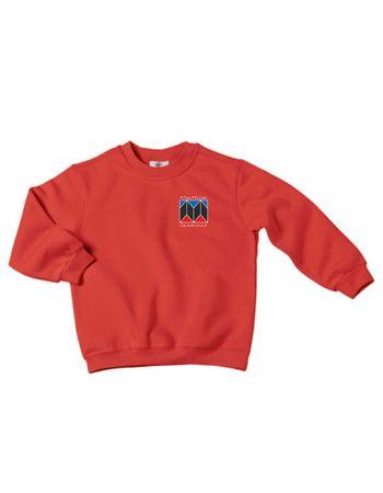 "Sweatshirt ""Montessori Schule Düsseldorf"" Kids 98 - 164 – Bild 1"