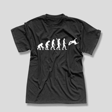 T-Shirt Evolution Freerunner Freestyle Parkour HipHop Breakdance Herren XS - 5XL