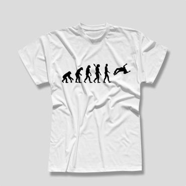 T-Shirt Evolution Freerunner Freestyle Parkour HipHop Breakdance Herren XS - 5XL – Bild 2