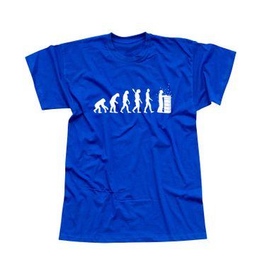 T-Shirt Evolution Imker Bienen Züchter Honig Imkerei 13 Farben Herren XS-5XL – Bild 12