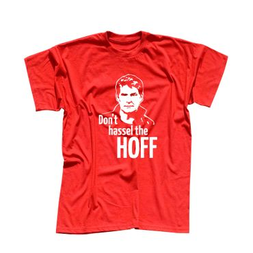 T-Shirt Hasselhoff Don't Hassel the Hoff David Baywatch 13 Farben Herren XS-5XL – Bild 13