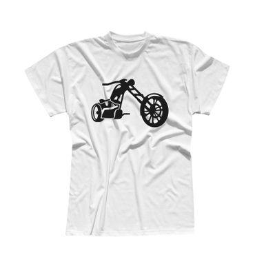 T-Shirt Chopper 3D Logo Biker Motorrad Rocker Cruiser Rider 13 Farben Men XS-5XL – Bild 4