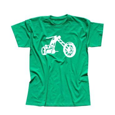 T-Shirt Chopper 3D Logo Biker Motorrad Rocker Cruiser Rider 13 Farben Men XS-5XL – Bild 10